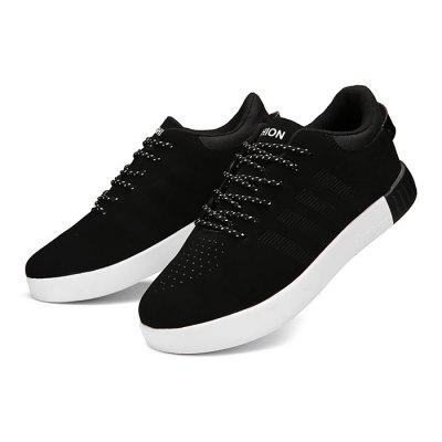 Female Breathable Anti Slip Casual Skateboarding ShoesWomens Sneakers<br>Female Breathable Anti Slip Casual Skateboarding Shoes<br><br>Closure Type: Lace-Up<br>Contents: 1 x Pair of Shoes<br>Function: Slip Resistant<br>Lining Material: Mesh<br>Materials: PU, Rubber, Mesh<br>Occasion: Tea Party, Outdoor Clothing, Holiday, Daily, Casual, Shopping<br>Outsole Material: Rubber<br>Package Size ( L x W x H ): 31.00 x 21.00 x 11.00 cm / 12.2 x 8.27 x 4.33 inches<br>Package Weights: 0.75kg<br>Pattern Type: Solid<br>Seasons: Autumn,Spring,Summer<br>Style: Modern, Leisure, Fashion, Comfortable, Casual<br>Toe Shape: Round Toe<br>Type: Skateboarding Shoes<br>Upper Material: PU