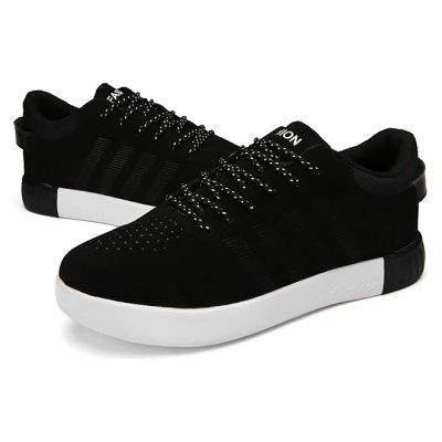 Feminino Respirável Anti Slip Casual Skateboarding Shoes