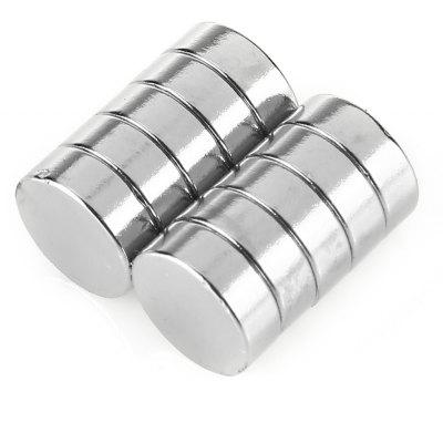 14 x 5mm Cylinder N52 NdFeB Magnet 10pcs / set