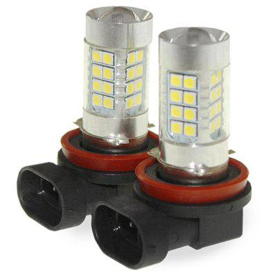 Sencart 2pcs H8 PGJ19 - 1 LED Car Headlight