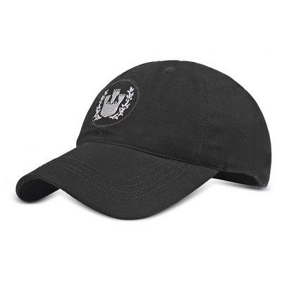 Embroidered Cotton Baseball Hat for Men