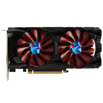 Yeston AMD RX550 4G GDDR5 Placa Gráfica