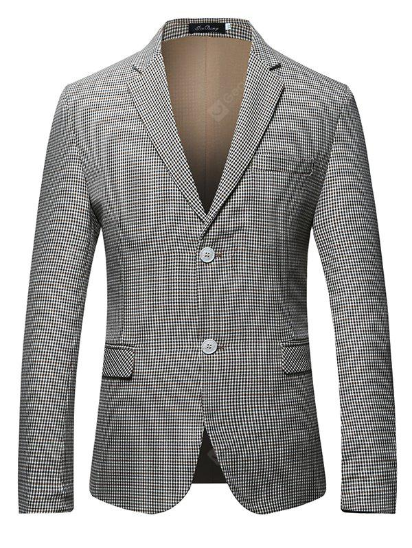 GRAY Classic Two Buttons Suit for Men