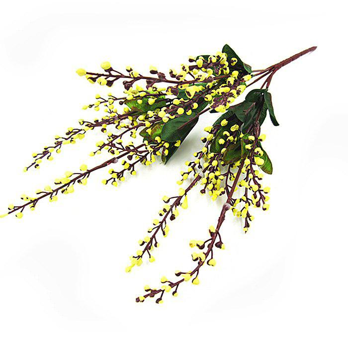 Buy Fake Fruits Home Decorative Artificial Flowers YELLOW