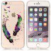 ASLING Feather Series Phone Case for iPhone 6S / 6 - COLORMIX