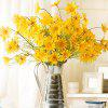 XM Small Daisies Artificial Flowers for Home Decoration - YELLOW
