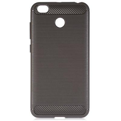 Luanke Brushed Finish Soft CaseCases &amp; Leather<br>Luanke Brushed Finish Soft Case<br><br>Brand: Luanke<br>Compatible Model: Redmi 4X<br>Features: Anti-knock, Back Cover<br>Mainly Compatible with: Xiaomi<br>Material: Carbon Fiber<br>Package Contents: 1 x Phone Case<br>Package size (L x W x H): 21.00 x 13.00 x 2.00 cm / 8.27 x 5.12 x 0.79 inches<br>Package weight: 0.0480 kg<br>Product Size(L x W x H): 14.20 x 7.30 x 1.00 cm / 5.59 x 2.87 x 0.39 inches<br>Product weight: 0.0230 kg<br>Style: Solid Color, Modern
