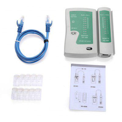 Network Maintenance Tool Kit with Tester / 10 Crystal Head / Lan Cable
