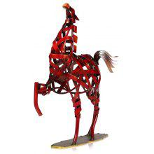 MCYH 516 Creative Metal Figurine Iron Horse Figurine