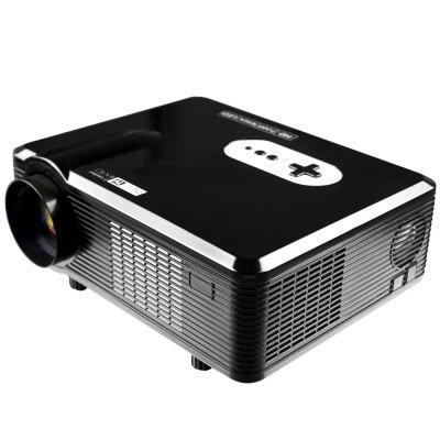 Excelvan CL720D LED Projector with Digital TV Slotprojectors<br>Excelvan CL720D LED Projector with Digital TV Slot<br><br>3D: Yes<br>Aspect Ratio: 16:9 / 4:3<br>Audio Formats: WMA, MPEG1,  LPCM,  MP3,  MPEG2<br>Bluetooth: Unsupport<br>Brand: EXCELVAN<br>Brightness: 3000 Lumens<br>Built-in Speaker: Yes<br>Color: Black,White<br>Compatible with: TV<br>Contrast Ratio: 2000:1<br>Display type: LCD<br>DVB-T Supported: Yes<br>External Subtitle Supported: No<br>Function: 3D, DVB-T, Speaker<br>Image Scale: 16:9,4:3<br>Image Size: 60 - 100 inch<br>Interface: AV, TV<br>Lamp: LED<br>Lamp Life: 30000H<br>Lamp Power: 150W<br>Material: Plastic, Glass<br>Model: CL720D<br>Native Resolution: 1280 x 800<br>Other Features: Built-in Speaker (5W x 2)<br>Package Contents: 1 x Projector, 1 x Remote Controller, 1 x Adapter, 1 x AV Cable, 1 x Fuse, 1 x Lens Cloth<br>Package size (L x W x H): 38.50 x 18.20 x 33.80 cm / 15.16 x 7.17 x 13.31 inches<br>Package weight: 3.9150 kg<br>Picture Formats: BMP,  GIF,  MPO,  PNG, JPEG<br>Power Supply: 90-240V/50-60Hz<br>Product size (L x W x H): 32.00 x 25.50 x 11.50 cm / 12.6 x 10.04 x 4.53 inches<br>Product weight: 3.3000 kg<br>Projection Distance: 1.2 - 3.6 m<br>Resolution Support: 1080P<br>Throw Ration: 72inch - 2.08m, 84inch - 2.37m, 100inch - 3m, 120inch - 3.38m<br>Video Formats: MPEG1,  VC1,  MPEG2,  H.263,  H.264,  HEVC,  AVS,  RV30,  MJPEG,  RV40