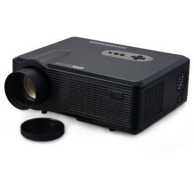 tv projector. excelvan cl720d led projector with digital tv slot tv