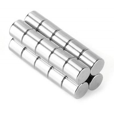 N52 8 x 8mm Cylinder NdFeB Strong Magnet 20pcs / set