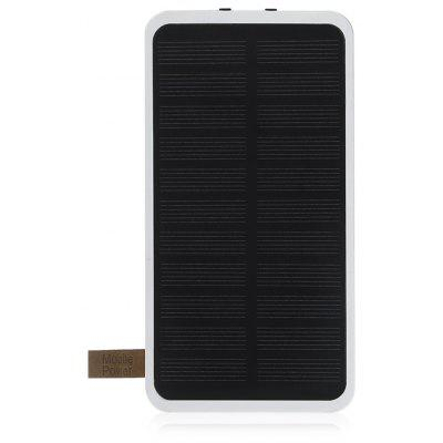 PANIZHE D4001 Solar Energy Power Bank 8000mAh Two-way Fast Charge