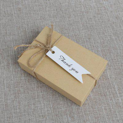 100PCS Fishtail Gift Box Decoration Packing Label SetOther holiday and party supplies<br>100PCS Fishtail Gift Box Decoration Packing Label Set<br><br>For: All<br>Material: Paper<br>Package Contents: 1 x Packing Label Set , 1 x Packing Label Set<br>Package size (L x W x H): 8.00 x 6.00 x 2.00 cm / 3.15 x 2.36 x 0.79 inches, 8.00 x 6.00 x 2.00 cm / 3.15 x 2.36 x 0.79 inches<br>Package weight: 0.0436 kg<br>Product size (L x W x H): 7.00 x 2.00 x 0.10 cm / 2.76 x 0.79 x 0.04 inches<br>Product weight: 0.0431 kg<br>Usage: New Year, Christmas, Valentine Gift, Wedding, Birthday, Teachers day