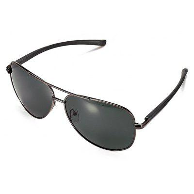 Buy GUN METAL FRAME + GREY LENS Ultralight Fashionable Men Polarized Goggles for $12.47 in GearBest store