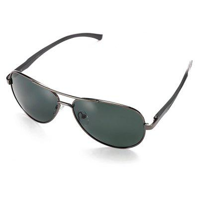 Buy GUN METAL FRAME + GREY LENS Fashion Ultralight Men Polarized Goggles for $12.44 in GearBest store