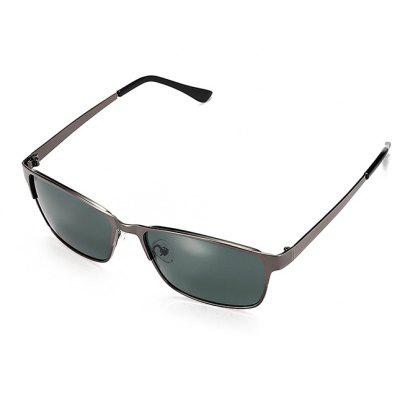 Buy GUN METAL FRAME + GREY LENS Ultralight HD Men Polarized Goggles for $12.45 in GearBest store