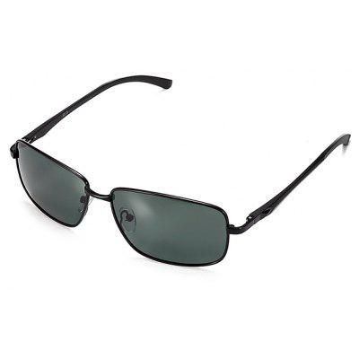 Buy BLACK+GREY Men Metal Frame Polarized Goggles for $12.42 in GearBest store