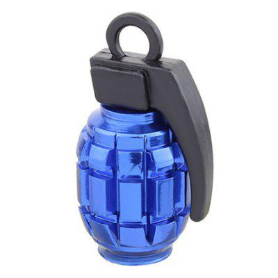 4PCS / Set Grenade Style Valve Caps for Car