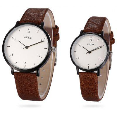 KEZZI 1769 Couple Quartz Watches