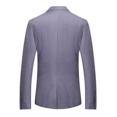Casual Stylish Slim Fit Blazer JacketMens Blazers<br>Casual Stylish Slim Fit Blazer Jacket<br><br>Material: Polyester, Viscose<br>Package Contents: 1 x Blazer Jacket<br>Package size: 35.00 x 30.00 x 2.00 cm / 13.78 x 11.81 x 0.79 inches<br>Package weight: 0.8700 kg<br>Product weight: 0.8500 kg