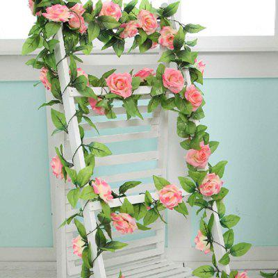 Flores Artificiais de Rim Rose de 2.4M