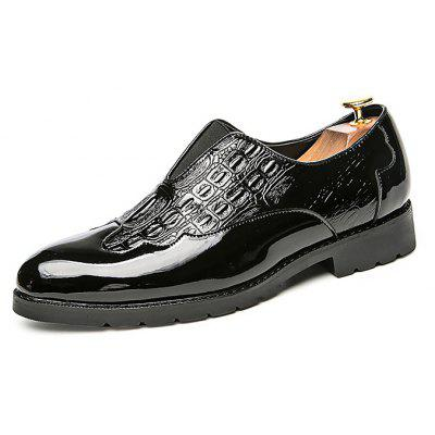 Male Business Stylish Soft Slip On Casual Dress Shoes