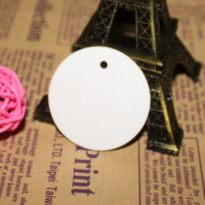 Simple Bookmark Gift Round Shaped Card