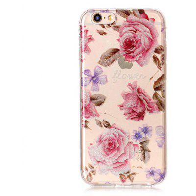 Buy COLORFUL Roses Pattern Phone Case for iPhone 6S / 6 for $2.35 in GearBest store