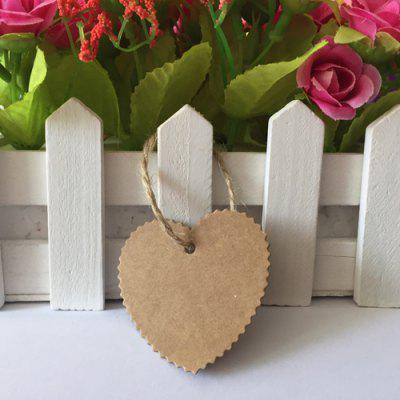 100pcs Wave Love DIY Handmade Kraft Paper for MessageOther holiday and party supplies<br>100pcs Wave Love DIY Handmade Kraft Paper for Message<br><br>Package Contents: 100 x Kraft Paper, 1 x 10m String<br>Package size (L x W x H): 9.50 x 7.00 x 2.20 cm / 3.74 x 2.76 x 0.87 inches<br>Package weight: 0.0625 kg<br>Product size (L x W x H): 5.00 x 5.00 x 2.20 cm / 1.97 x 1.97 x 0.87 inches<br>Product weight: 0.0620 kg