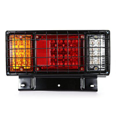 2pcs Waterproof 40  LED Tail Light with Iron Stand 12V / 24VCar Lights<br>2pcs Waterproof 40  LED Tail Light with Iron Stand 12V / 24V<br><br>Apply lamp position: External Lights<br>Apply To Car Brand: Universal<br>Color temperatures: 7000K<br>Connector: Cable Connector<br>LED/Bulb quantity: 40<br>Lumens: 200LM<br>Material: Metal<br>Model: HL - H - 109<br>Package Contents: 2 x Tail Light<br>Package size (L x W x H): 37.00 x 23.00 x 14.00 cm / 14.57 x 9.06 x 5.51 inches<br>Package weight: 2.0510 kg<br>Power: 3W<br>Product size (L x W x H): 34.00 x 21.00 x 7.20 cm / 13.39 x 8.27 x 2.83 inches<br>Product weight: 0.9370 kg<br>Type: Tail Light<br>Type of lamp-house: LED