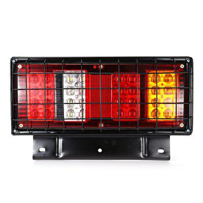 2pcs Waterproof 32 LED Tail Lamp with Iron Stand 12V / 24VCar Lights<br>2pcs Waterproof 32 LED Tail Lamp with Iron Stand 12V / 24V<br><br>Apply lamp position: External Lights<br>Apply To Car Brand: Universal<br>Color temperatures: 7000K<br>Connector: Cable Connector<br>Feature: Waterproof/Dustproof<br>Lumens: 200LM<br>Material: Metal<br>Model: HL - H - 119<br>Package Contents: 2 x Tail Light<br>Package size (L x W x H): 37.00 x 23.00 x 13.50 cm / 14.57 x 9.06 x 5.31 inches<br>Package weight: 1.9310 kg<br>Product size (L x W x H): 34.00 x 21.00 x 7.20 cm / 13.39 x 8.27 x 2.83 inches<br>Product weight: 0.9010 kg<br>Type: Tail Light<br>Type of lamp-house: LED<br>Voltage: 12V,24V