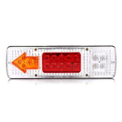 HL - H - 139 2pcs ABS Arrow Tail Lamp with White LampshadeCar Lights<br>HL - H - 139 2pcs ABS Arrow Tail Lamp with White Lampshade<br><br>Apply lamp position: External Lights, External Lights<br>Apply To Car Brand: Universal, Universal<br>Color temperatures: 7000K<br>Connector: Cable Connector<br>Feature: Waterproof/Dustproof<br>LED/Bulb quantity: 19<br>Lumens: 200LM<br>Material: ABS<br>Package Contents: 2 x Tail Light, 8 x Screw, 2 x Tail Light, 8 x Screw<br>Package size (L x W x H): 32.00 x 9.00 x 11.00 cm / 12.6 x 3.54 x 4.33 inches, 32.00 x 9.00 x 11.00 cm / 12.6 x 3.54 x 4.33 inches<br>Package weight: 0.5320 kg, 0.5320 kg<br>Power: 1.2W<br>Product size (L x W x H): 30.00 x 8.70 x 3.00 cm / 11.81 x 3.43 x 1.18 inches, 30.00 x 8.70 x 3.00 cm / 11.81 x 3.43 x 1.18 inches<br>Product weight: 0.2380 kg, 0.2380 kg<br>Type: Tail Light<br>Type of lamp-house: LED<br>Voltage: 12V,24V