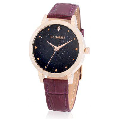 CAGARNY 6875 Quartz Women Wristwatch