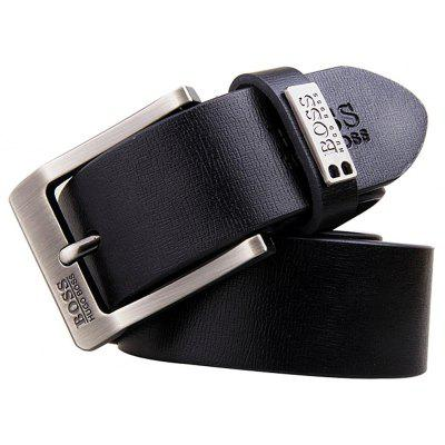 Men Faddish Pin Buckle Leisure Trouser Belt