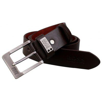Faddish Pin Buckle Leisure Trouser Belt for MenMens Belts<br>Faddish Pin Buckle Leisure Trouser Belt for Men<br><br>Belt Buckle Type: Pin buckle<br>Material: Leather<br>Package Size(L x W x H): 13.00 x 11.00 x 4.00 cm / 5.12 x 4.33 x 1.57 inches<br>Package weight: 0.3300 kg<br>Packing List: 1 x Belt<br>Product weight: 0.3000 kg<br>Style: Casual