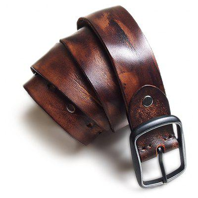 Britain Style Pin Buckle Trouser Belt for Men