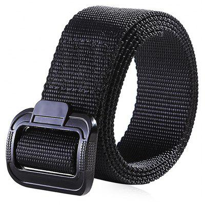 Knitted Canvas Outdoor Sports Trouser Belt for Men