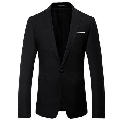 Casual Stylish Slim Fit One Button Blazer Jacket