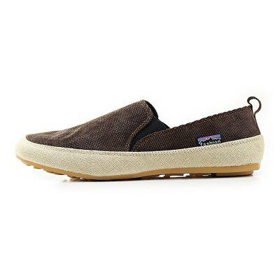 Male Casual Light Canvas Slip On ShoesFlats &amp; Loafers<br>Male Casual Light Canvas Slip On Shoes<br><br>Closure Type: Slip-On<br>Contents: 1 x Pair of Shoes<br>Function: Slip Resistant<br>Lining Material: Cotton Fabric<br>Materials: Fabric, Rubber, Canvas<br>Occasion: Tea Party, Holiday, Daily, Casual, Shopping<br>Outsole Material: Rubber<br>Package Size ( L x W x H ): 30.00 x 20.00 x 10.00 cm / 11.81 x 7.87 x 3.94 inches<br>Pattern Type: Solid<br>Seasons: Autumn,Spring<br>Style: Modern, Leisure, Fashion, Comfortable, Casual<br>Toe Shape: Round Toe<br>Type: Casual Shoes<br>Upper Material: Canvas