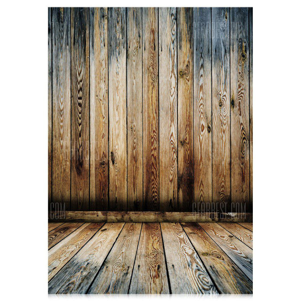 Wood Grain Photography Backdrop Cloth
