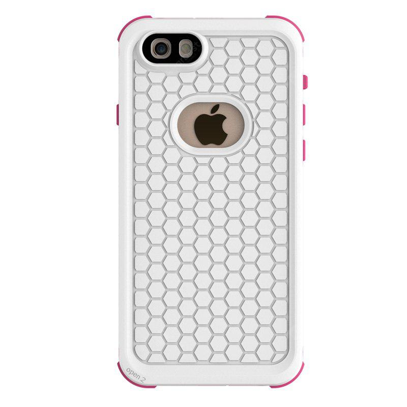 PINK AND WHITE Durable Waterproof Design Phone Cover for iPhone 6 / 6S