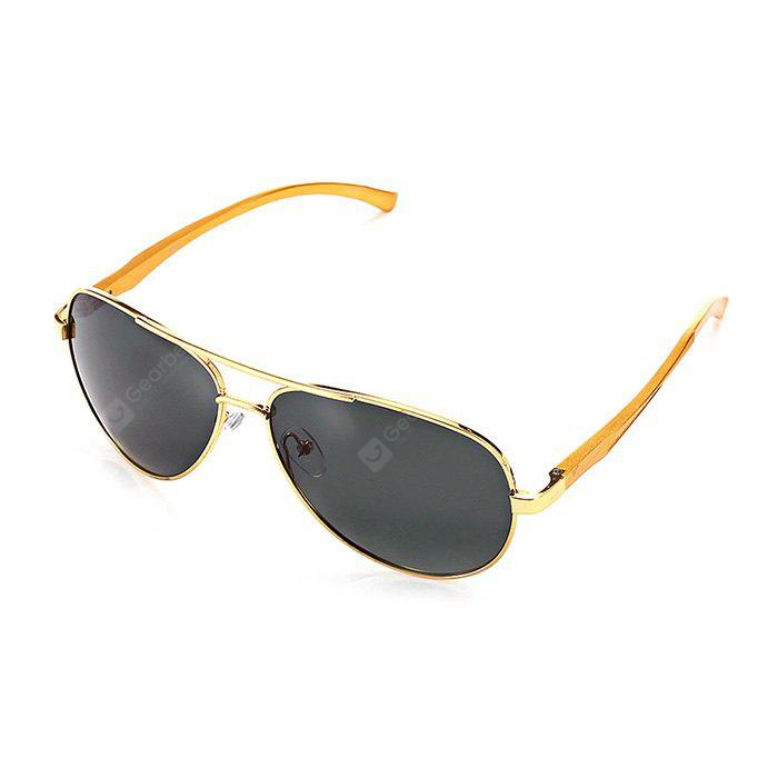 GOLDEN+GREY Fashion Ultralight Men Polarized Goggles