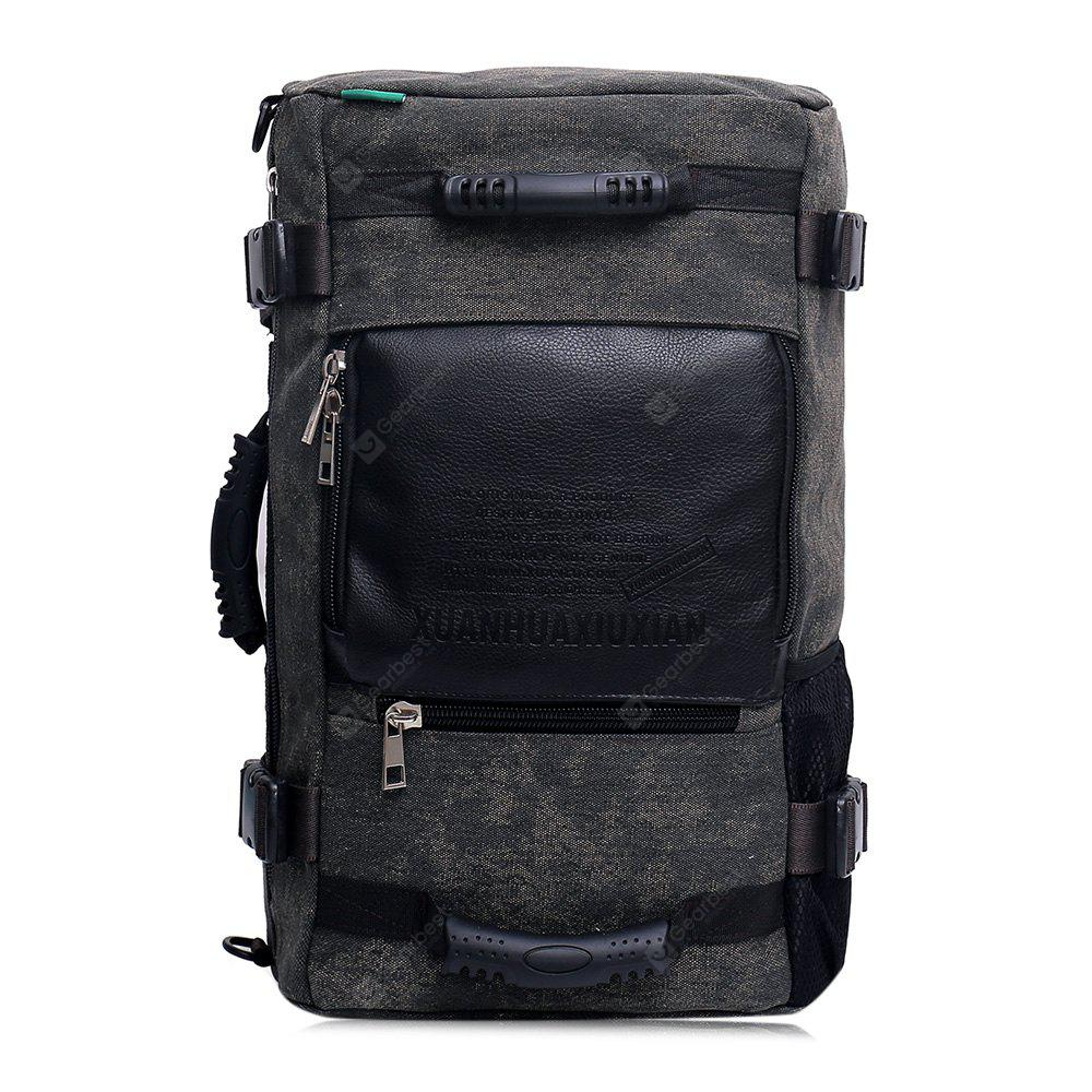 Large Capacity Canvas Travel Backpack