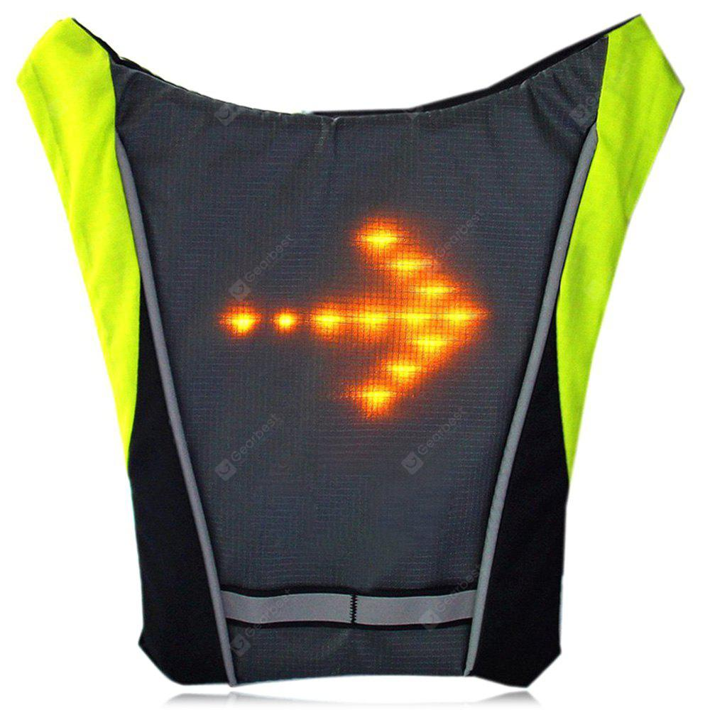 Backpack Signal LED Indicator Vest with Remote Controller
