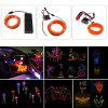 BRELONG 5m DC 12V Orange EL LED Neon Cold Strip Light - BRIGHT ORANGE