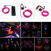 BRELONG 5m DC 12V Pink EL LED Neon Cold Strip Light - PINK