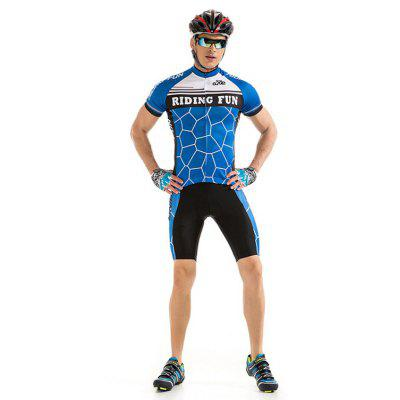 RIDING FUN Uomo Riding Clothes Suit con cuscino spugna 3D