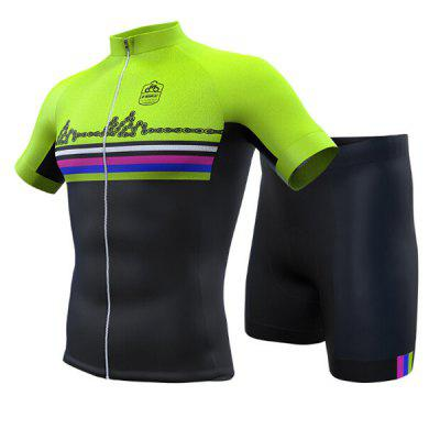 INBIKE Unisex Breathable Short-sleeved Riding Clothes Suit