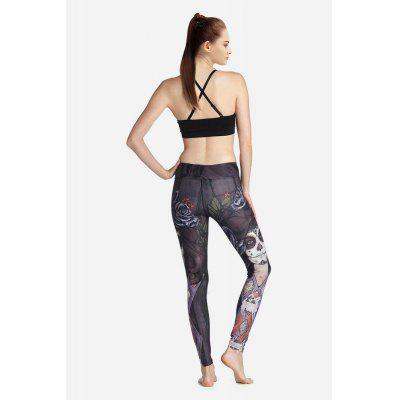 Female Elastic Slim Printed Pants for Yoga Energy SportsYoga<br>Female Elastic Slim Printed Pants for Yoga Energy Sports<br><br>Package Content: 1 x Sports Pants<br>Package size: 35.00 x 25.00 x 2.00 cm / 13.78 x 9.84 x 0.79 inches<br>Package weight: 0.2800 kg<br>Product weight: 0.2500 kg